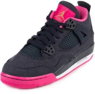 Nike JORDAN 4 RETRO GG (GS) 'DENIM' - 487724-408