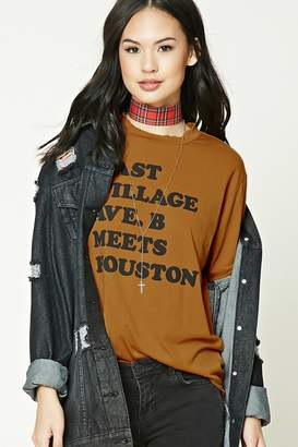 Forever 21 Distressed Graphic T-Shirt