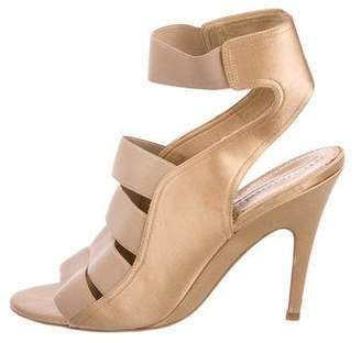 Stella McCartney Multistrap Satin Sandals