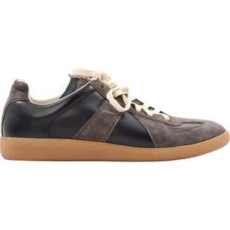 Maison Margiela Leather low trainers