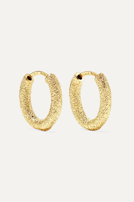 18-karat Gold Hoop Earrings