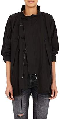 Regulation Yohji Yamamoto Women's Linen-Cotton Convertible Jacket