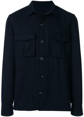 Tomas Maier sporty wool field jacket