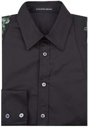 Alexander McQueen Embroidered Harness Formal Shirt