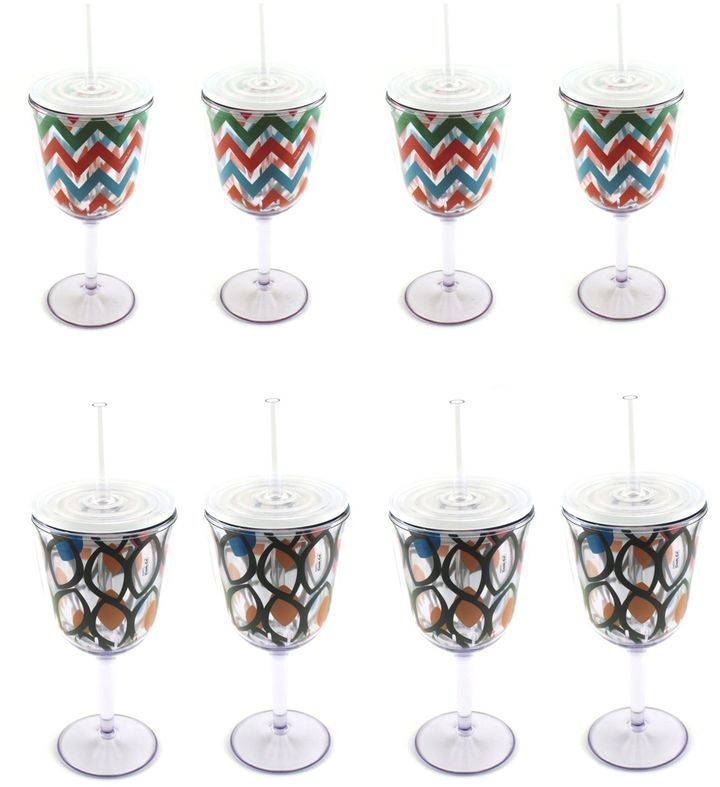 Berghoff BergHOFF® Acrylic Wine Glasses (Set of 8)