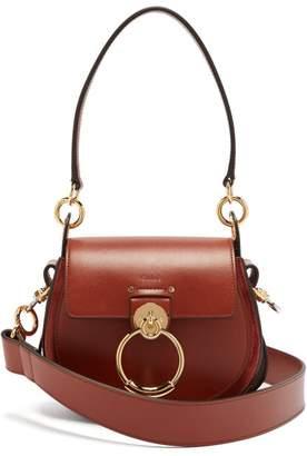 Chloé Tess Small Leather Cross Body Bag - Womens - Tan