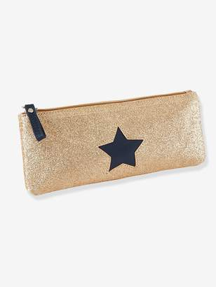 Vertbaudet Pencil Case with Glittery Star for Girls