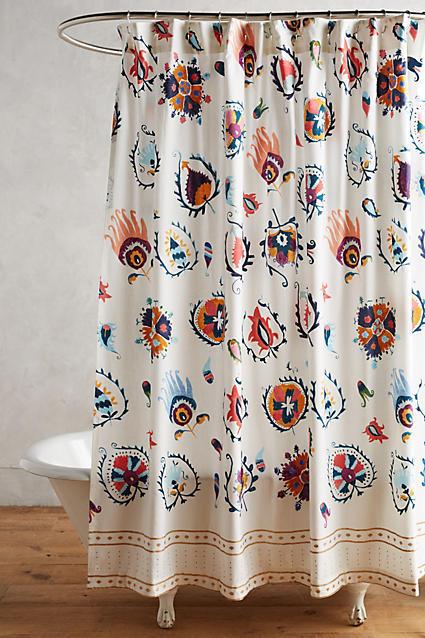 AnthropologieAnthropologie Jovana Shower Curtain