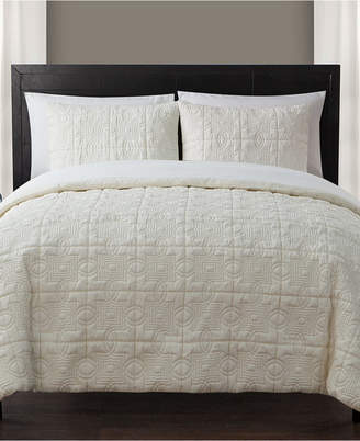 Vcny Home Iron Gate 7-Pc. Quilted King Bed-in-a-Bag Set Bedding