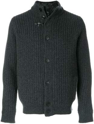 Fay button-down knitted cardigan