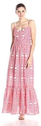 Betsey Johnson Women's Printed Maxi Dress $23.51 thestylecure.com