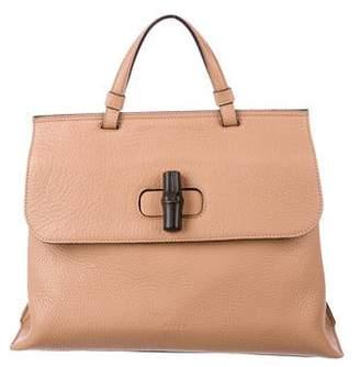 5ed57bb9f Gucci Small Bamboo Daily Top Handle Bag