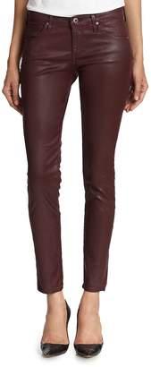 AG Adriano Goldschmied Women's Coated Skinny Jeans