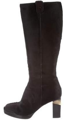 Fratelli Rossetti Ponyhair Knee-High Boots