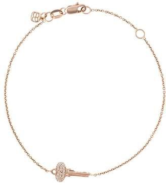 Sydney Evan key pendant bracelet