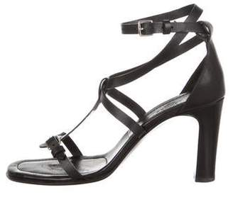 Hermes Leather Ankle Strap Sandals
