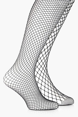 boohoo Mixed Scale Fishnet Tights 2 Pack