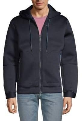 Antony Morato Classic Zip-Front Hoodie