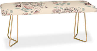 Deny Designs Pimlada Phuapradit Paisley Harmony Bench