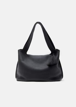 The Row Duplex Bag Black