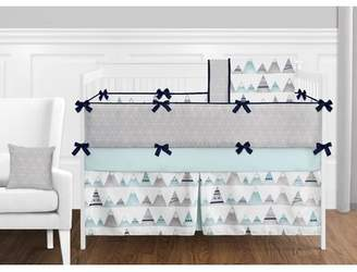 JoJo Designs Sweet Mountains 9 Piece Crib Bedding Set