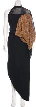 Tom Ford Asymmetrical Embellished Dress