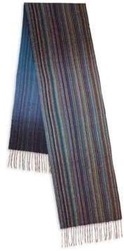 Paul Smith Classic Cashmere Striped Scarf