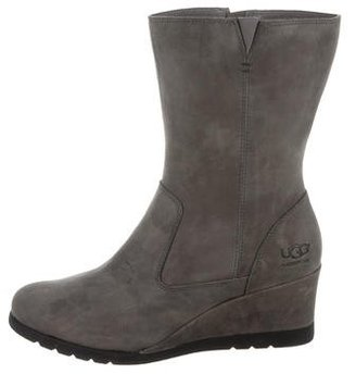 UGG Australia Joely Mid-Calf Boots $80 thestylecure.com