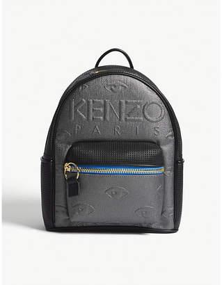 Kenzo Kembo neoprene metallic backpack