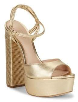 Rachel Zoe Willow Leather Platform Sandals
