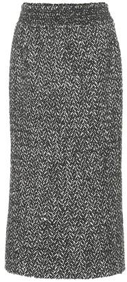 Miu Miu Wool and alpaca-blend pencil skirt