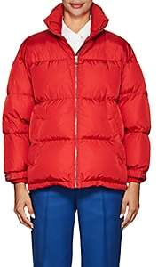 Prada Women's Down Puffer Coat - Red