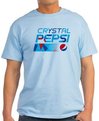 CafePress - Crystal Pepsi Pattern - 100% Cotton T-Shirt