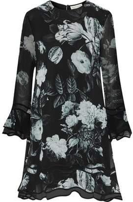 Sachin + Babi Lizette Floral-Print Georgette Dress