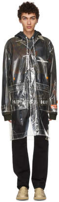 Heron Preston Transparent PVC Heron Rain Coat