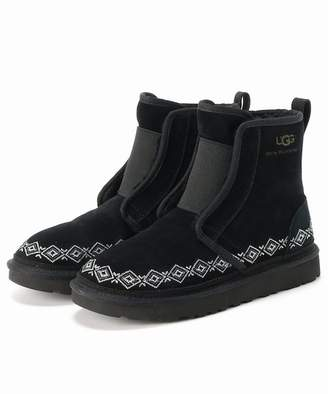 UGG (アグ) - Boice From Baycrew's Wm * Ugg Embroidered Front Gore Boots