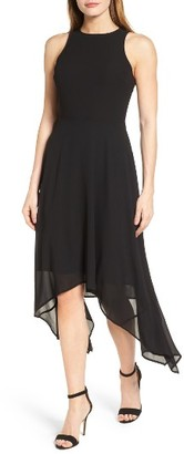 Women's Michael Michael Kors High/low Georgette Dress $155 thestylecure.com