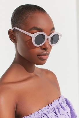 Urban Outfitters Fairfax Round Frosted Sunglasses