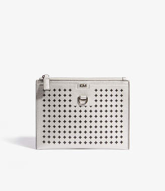 Karen Millen Perforated Pouch Bag