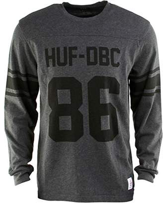HUF Men's Wrecking Crew Long Sleeve Football T-Shirt