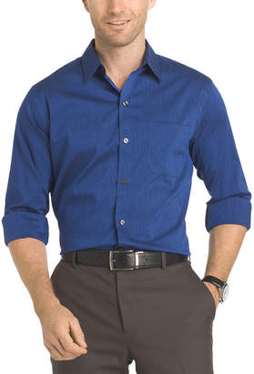 Van Heusen Long Sleeve Slim Fit Traveler Non Iron Stretch Shirt