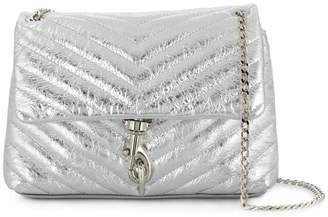 Rebecca Minkoff Edie metallic crossbody bag
