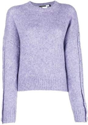 Sportmax Code button sleeve boxy sweater