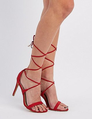 Lace-Up Dress Sandals $30.99 thestylecure.com