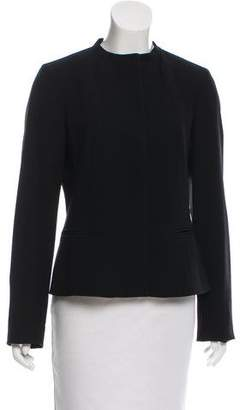 Calvin Klein Tailored Collarless Blazer w/ Tags