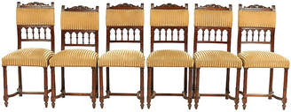 One Kings Lane Vintage 1870s French Henry II-Style Chairs - Set of 6 - Blink Home Vintique