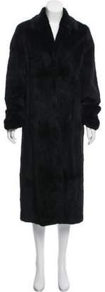 Andrew Marc Sheared Fur Coat