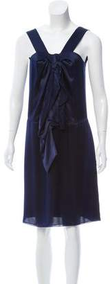 Magaschoni Silk Shift Dress w/ Tags