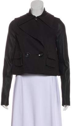 Rachel Zoe Long Sleeve Button-Up Jacket