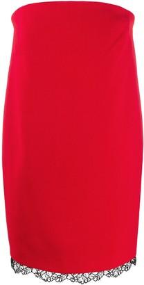 Philosophy di Lorenzo Serafini strapless mini dress
